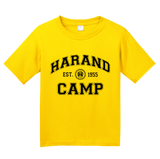 Youth Yellow Harand Theatre Camp Collegiate Style Navy Print T-shirt