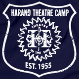 Harand Theatre Camp - Left Chest White Shield Logo Navy Art Preview