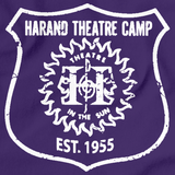 Harand Theatre Camp - Left Chest White Shield Logo Purple Art Preview