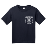 Youth Navy Harand Theatre Camp - Left Chest White Shield Logo T-shirt
