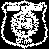 Harand Theatre Camp - Full Chest White Shield Logo Black Art Preview
