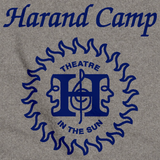 Harand Theatre Camp - Sun Logo Left Chest Royal Print Grey Art Preview