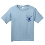 Youth Light Blue Harand Theatre Camp - Sun Logo Left Chest Royal Print T-shirt