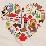 I Heart Canada | Canadian Love Natural art preview