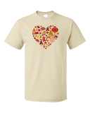 Standard Natural China Icon Heart - Chinese Love Heritage Cute Culture Symbols T-shirt