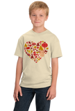 Youth Natural China Icon Heart - Chinese Love Heritage Cute Culture Symbols T-shirt