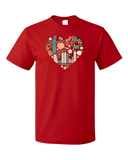 Standard Red Georgia Icon Heart - Georgia Love Atlanta Culture Southern Pride T-shirt