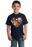 Youth Navy Pennsylvania Icon Heart - PA Love Pride Heritage Cute Symbols T-shirt