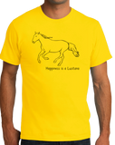 Standard Yellow Happiness is a Lusitano - Horse Lover Favorite Breed Lusitano T-shirt