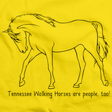 Tennessee Walking Horses Are People, Too! | Yellow Art Preview