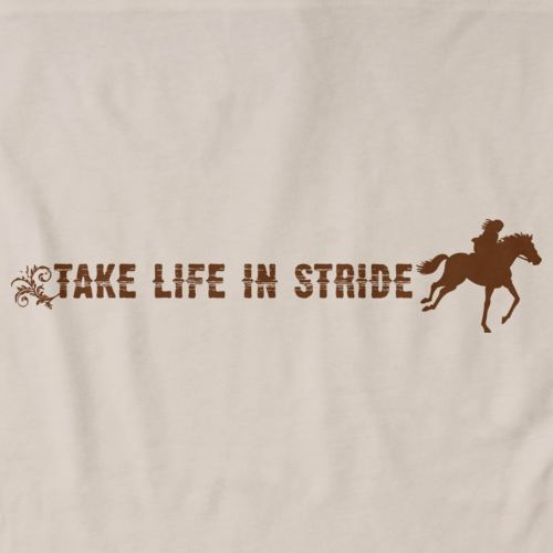 TAKE LIFE IN STRIDE  Natural art preview