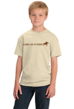 Youth Natural Take Life In Stride - Western Horseback Riding Motto Cute T-shirt