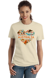 Ladies Natural Australia Love - Australian Pride Culture Cute Koala Gift T-shirt