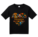 Youth Black Germany Love: Hessen - German History Culture State Cute T-shirt