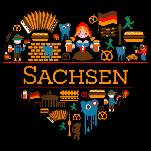 I Love Germany: Sachsen Black Art Preview