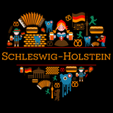 I Love Germany: Schleswig Holstein Black Art Preview