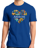 Standard Royal France Love: Ardeche - French Pride Culture Heritage Cute T-shirt