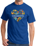 Standard Royal France Love: Charente - French Pride Culture Charentais Cute T-shirt