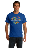 Standard Royal France Love: Guadeloupe - French Heritage Cute Heart Pride T-shirt