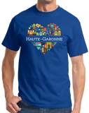 Standard Royal France Love: Haute Garonne - French Pride Culture Heritage Cute T-shirt