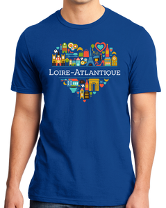 Standard Royal France Love: Haute Loire - French Pride Culture History Cute T-shirt