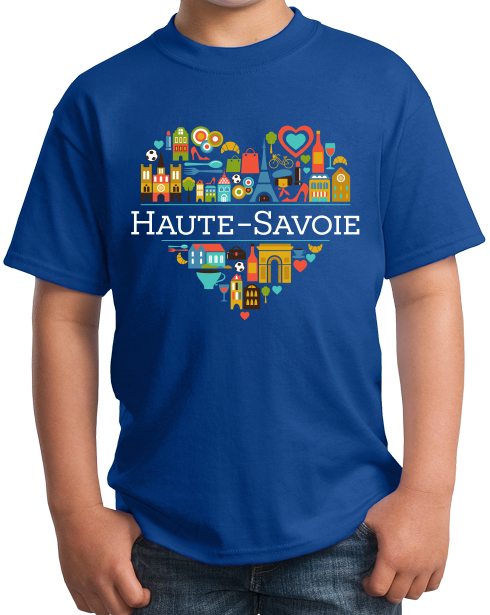 Youth Royal France Love: Haute Savoie - French History Cute Culture Fun T-shirt