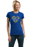 Ladies Royal France Love: Herault - French Culture Iconography Cute Heritage T-shirt