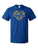 Standard Royal France Love: Pas De Calais - French Geography Dover Cute T-shirt