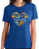 Ladies Royal France Love: Yvelines - French Culture Pride Versailles Cute T-shirt