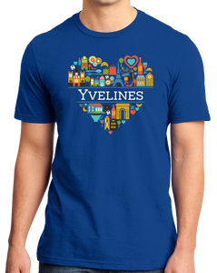 Standard Royal France Love: Yvelines - French Culture Pride Versailles Cute T-shirt