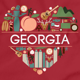 I Love Georgia Red art preview