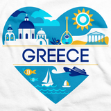 GREECE LOVE White art preview