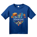 Youth Royal Italy Love: Marche - Italian Heritage Pride Ancona Cute T-shirt