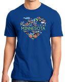Standard Royal Minnesota Love - MN Pride Paul Bunyan Twin Cities Vikings Cute T-shirt