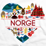NORGE LOVE White art preview