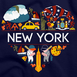 I Love New York | NY Pride Navy art preview