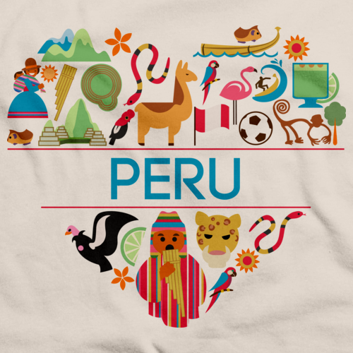 I Love Peru Natural art preview