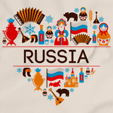 RUSSIA LOVE Natural art preview