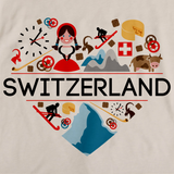 SWITZERLAND LOVE Natural art preview