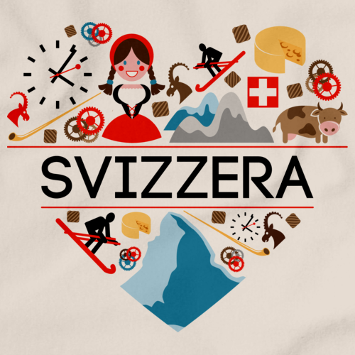 SVIZZERA LOVE Natural art preview