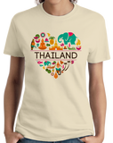Ladies Natural Thailand Love - Thai Pride Culture Heritage Bangkok Cute T-shirt