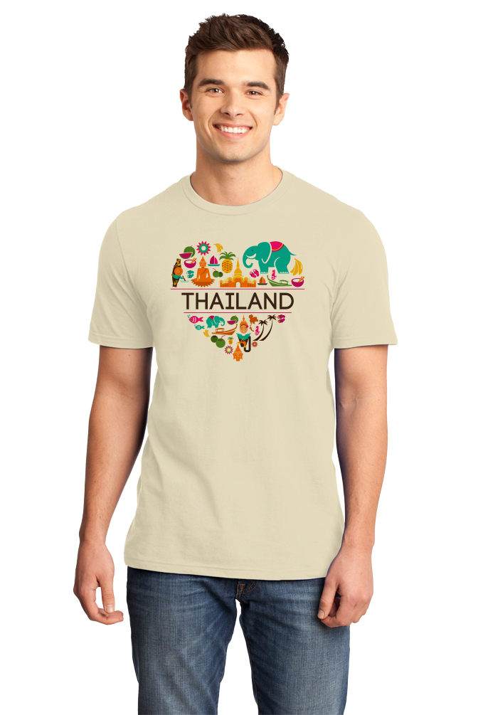 Standard Natural Thailand Love - Thai Pride Culture Heritage Bangkok Cute T-shirt