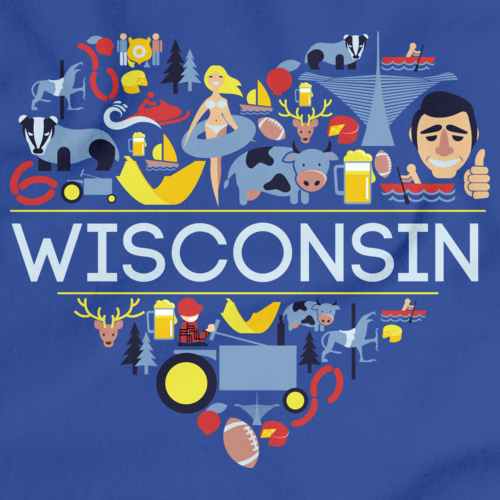 I Love Wisconsin | Wi Pride Royal Art Preview