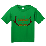 Youth Green If I'm Hunting, I'm Happy - Hunter Humor Pride Gift Funny T-shirt