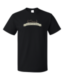 Unisex Black Deer: It's What's For Dinner - Hunting Humor Venison Funny Joke