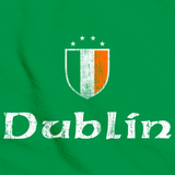 Dublin, Ireland Shield Green Art Preview