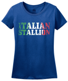 Ladies Royal Italian Stallion - Italy Pride Guido Paisano Gift Heritage T-shirt