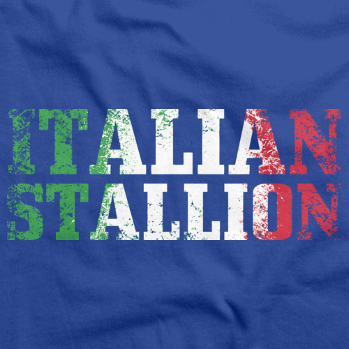 ITALIAN STALLION Royal Blue art preview