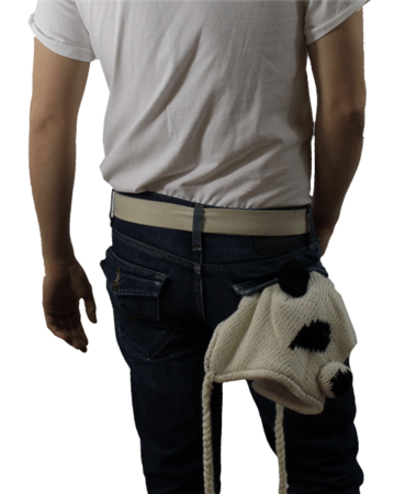 *SALE* The Joe Moses Showses Knit Panda Hat