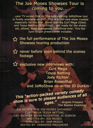 The Joe Moses Showses DVD